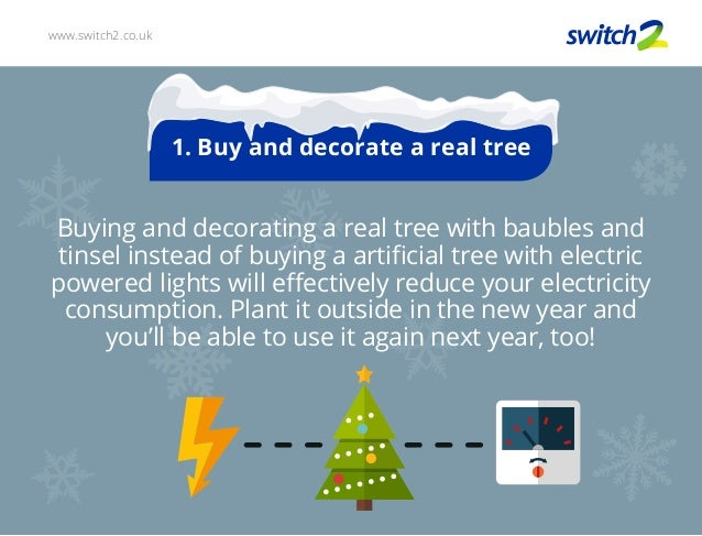 Saving Energy this Christmas 2015