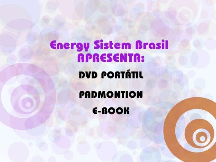 EnergySistem Brasil:DVD PORTÁTILPADMONTIONE-Book<br />