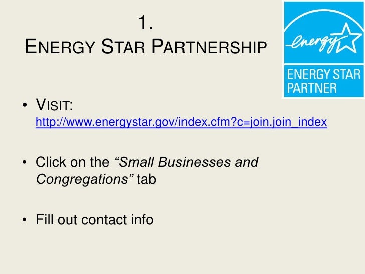 Energy Star Qualification Process And Marketing Strategy