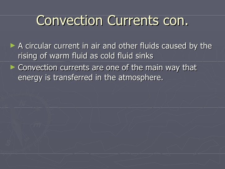 transfers heat within the atmosphere and ocean