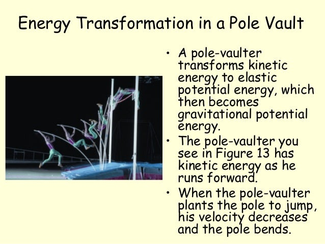 conservation of energy and transformation Name date class energy transformations and conservation orbits, ellipses, and energy planets and comets orbit the sun in ellipse-shaped paths.