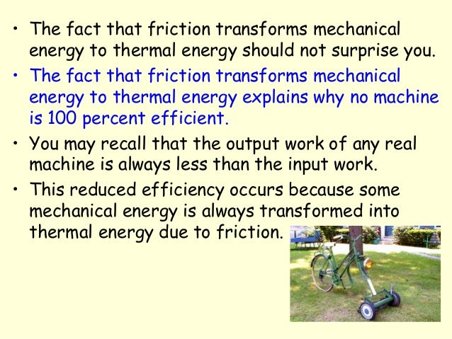 Energy transformations and conservation for Energy conservation facts