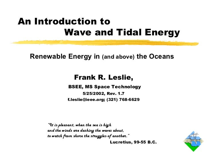 Energy wave intro