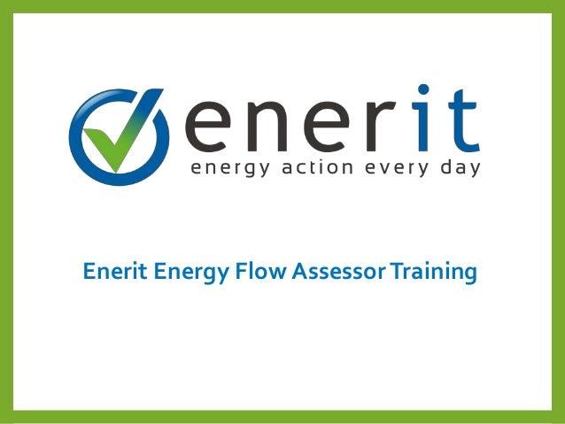 Enerit Energy Flow AssessorTraining
