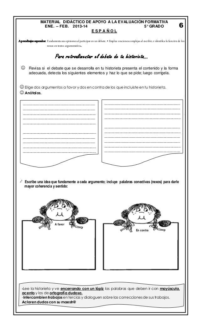 EXAMEN DE PREPARACIÓN BIMESTRE 3 QUINTO GRADO