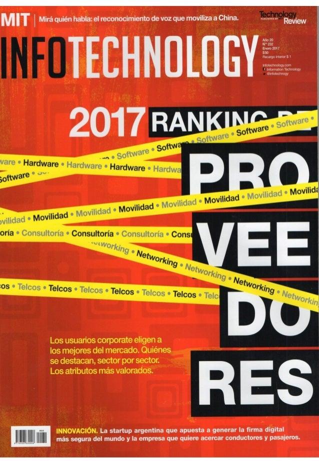 INFOTECHNOLOGY - 2017 Ranking de Proveedores (2da parte)