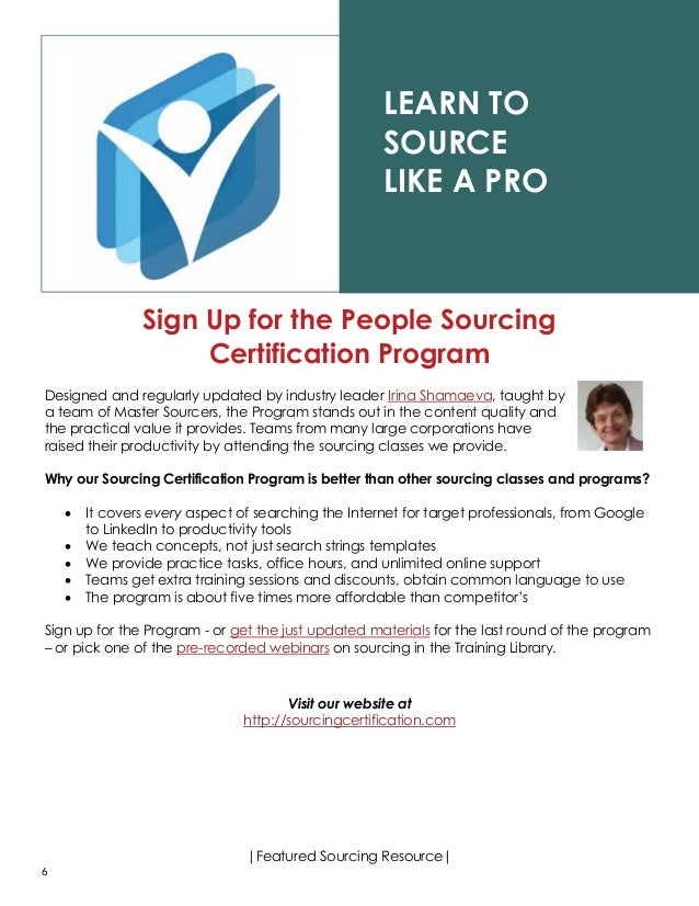recruiting resource for hiring managers who s who in high