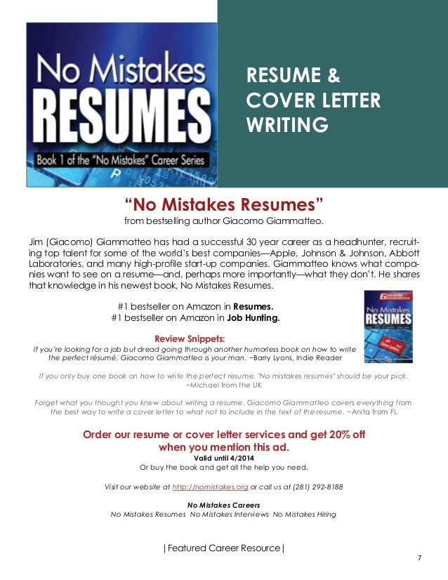 Federal Résumé Writing Service Directory