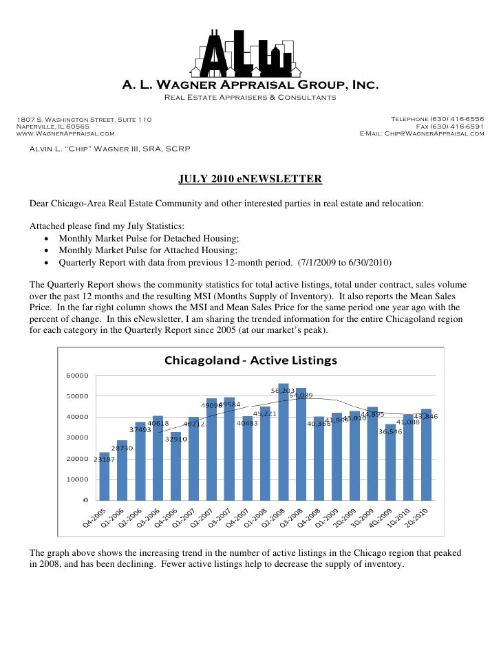 A. L. Wagner Appraisal Group, Inc.                                        Real Estate Appraisers & Consultants  1807 S. Wa...