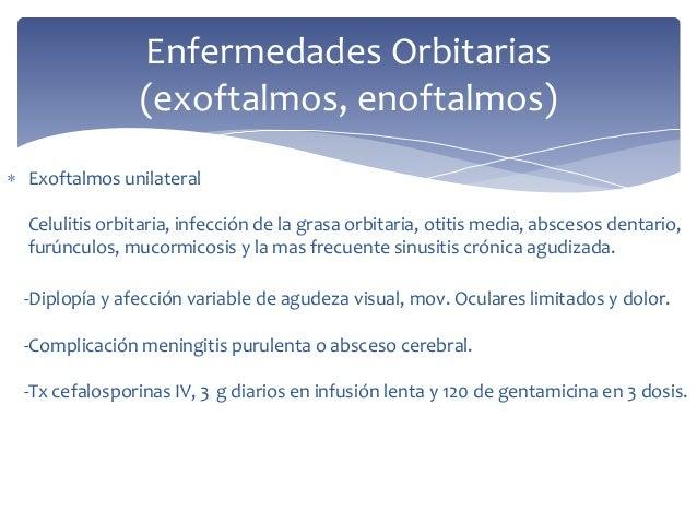 La rbita y sus alteraciones enfermedades orbitarias for Paredes orbitarias
