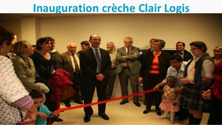 Inauguration crèche Clair Logis