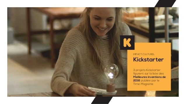 Kickstarter IMPACT CULTUREL 3 projets Kickstarter figurent sur la liste des Meilleures inventions de 2016 publiée par le T...