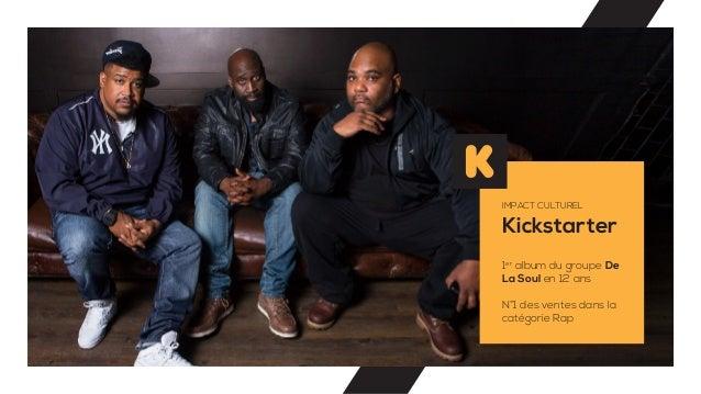 Kickstarter IMPACT CULTUREL 1er album du groupe De La Soul en 12 ans N°1 des ventes dans la catégorie Rap