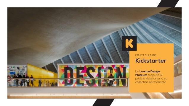 Kickstarter IMPACT CULTUREL Le London Design Museum a ajouté 6 projets Kickstarter à sa collection permanente
