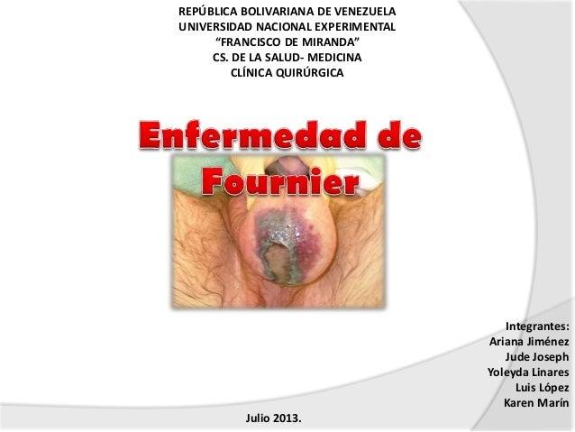"REPÚBLICA BOLIVARIANA DE VENEZUELA UNIVERSIDAD NACIONAL EXPERIMENTAL ""FRANCISCO DE MIRANDA"" CS. DE LA SALUD- MEDICINA CLÍN..."