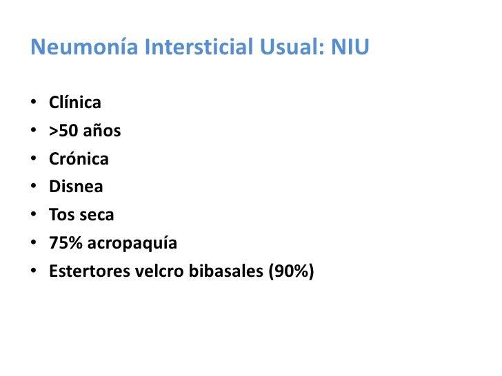 TACAR ( HRCT)<br /><ul><li>Es más sensible en el estudio de las alteraciones del intersticio pulmonar.