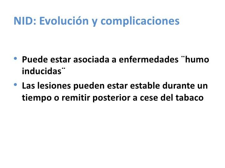 Neumonía Organizativa Criptogenica<br />Pólipos de tejidos de granulación en bronquiolos terminales y conductos alveolares...