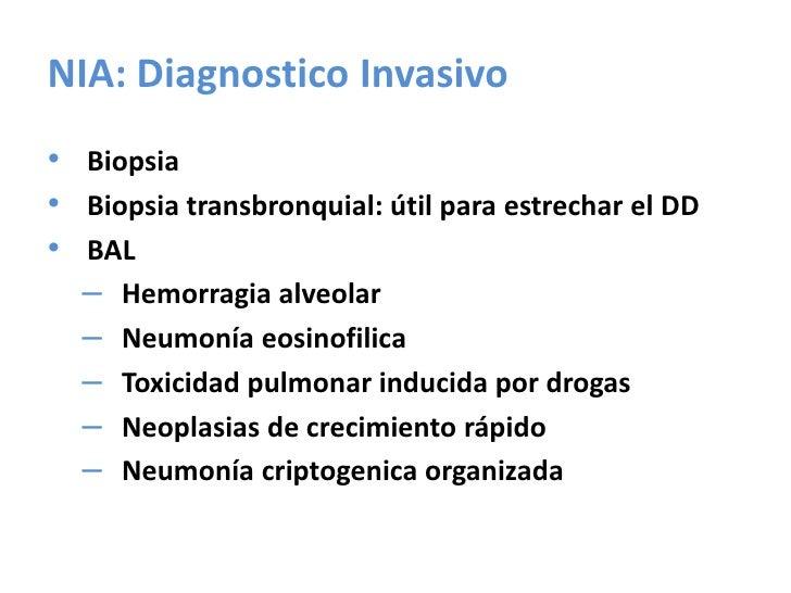 Neumonía Intersticial Linfocitica<br />Idiopática o asociada a otras enfermedades Inmunológicas<br />Infiltración del inte...