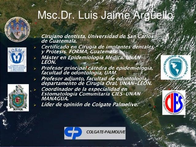 Msc.Dr. Luis Jaime Argüello       