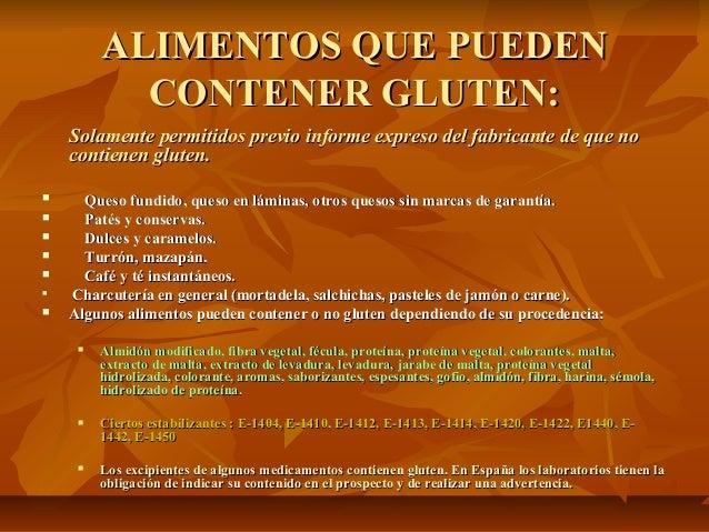 2012 09 12 enfermedad cel aca ppt - Alimentos que contienen colageno hidrolizado ...