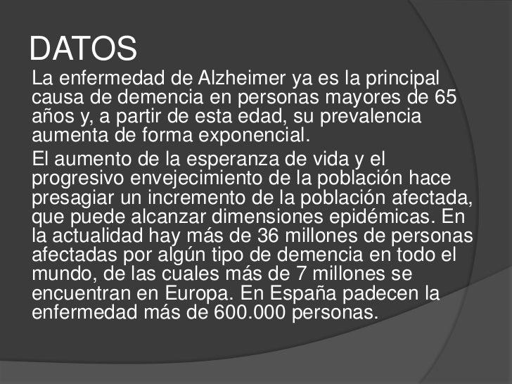 Enfermedad de alzheimer Slide 3