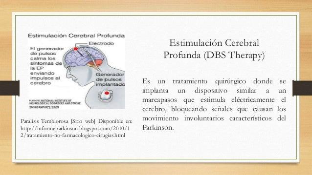 Enfermedad de Parkinson promoción y tratamiento.