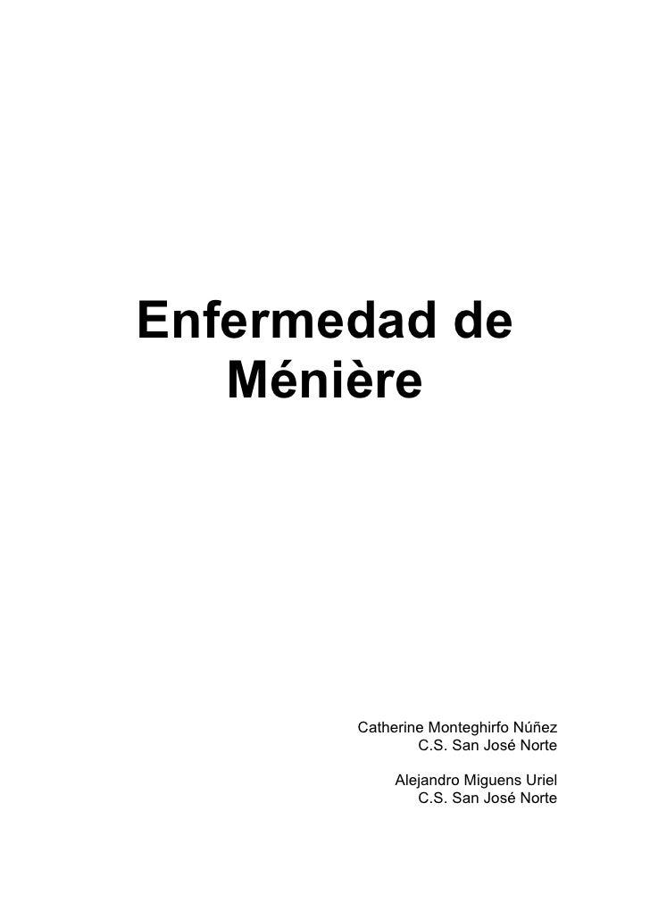 (2011-10-26) Enfermedad de meniere (doc)