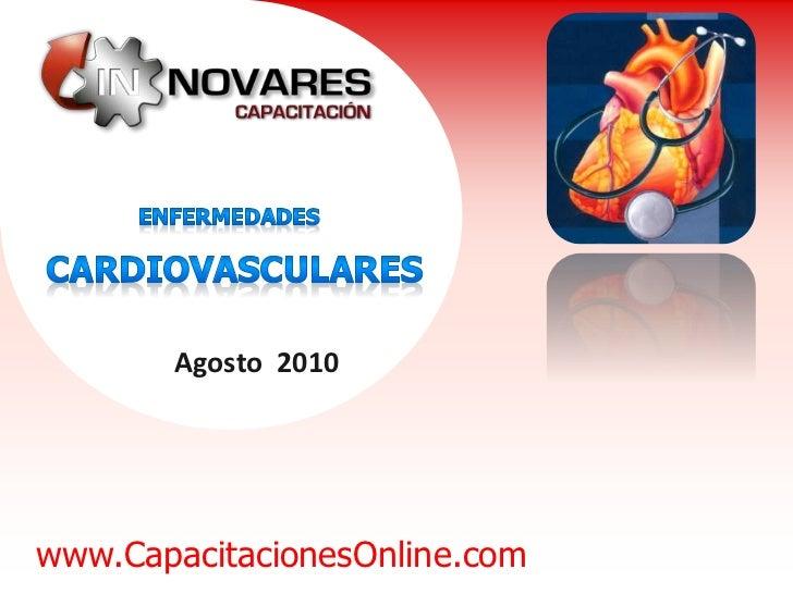 Agosto 2010www.CapacitacionesOnline.com