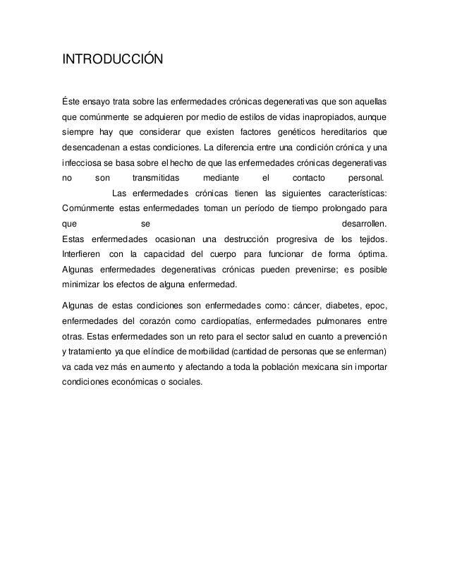 Enfermedades Cronicas Degenerativas  Slide 2