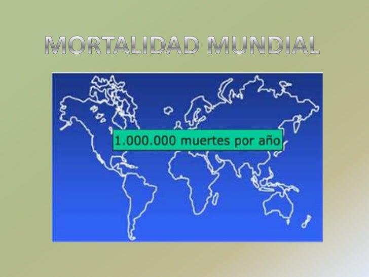 MORTALIDAD MUNDIAL<br />