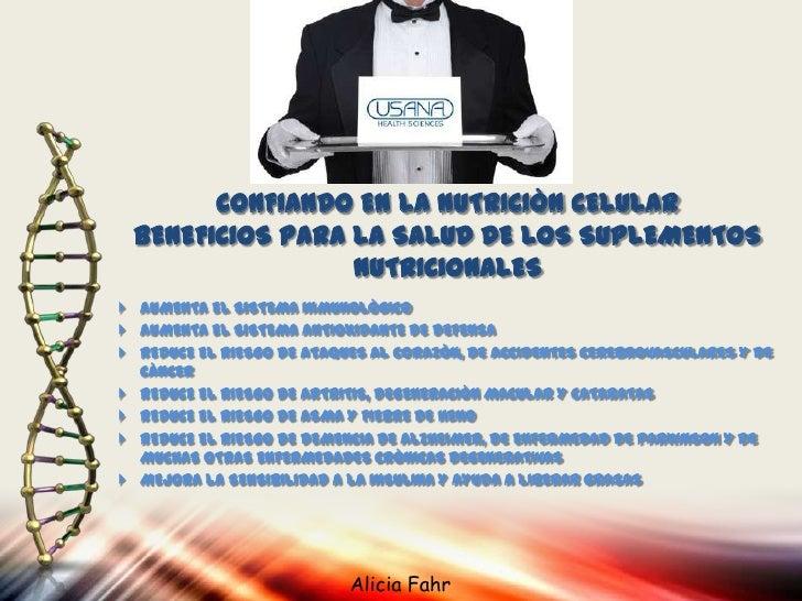 Esenciales de Usana: el Producto Nutricional # 1               COMPARATIVO DE LOS MULTIVITAMINICOS                      VE...