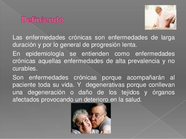 ENFERMEDADES CRONICO DEGENERATIVAS  ELABORADO POR : SANDRA GODINEZ PÉREZ Slide 2