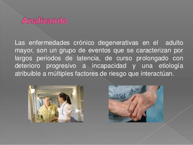 ENFERMEDADES CRONICO DEGENERATIVAS  ELABORADO POR : SANDRA GODINEZ PÉREZ Slide 3