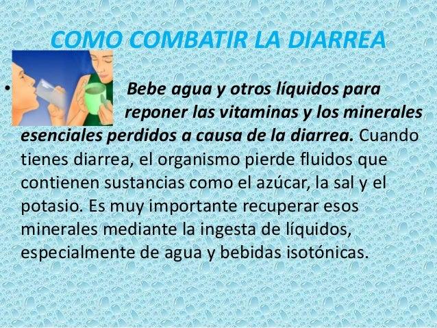 Enfermedades del agua contaminada