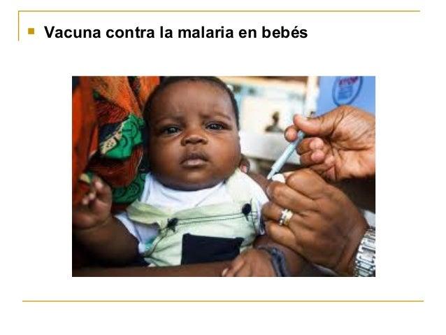    Vacuna contra la malaria en bebés