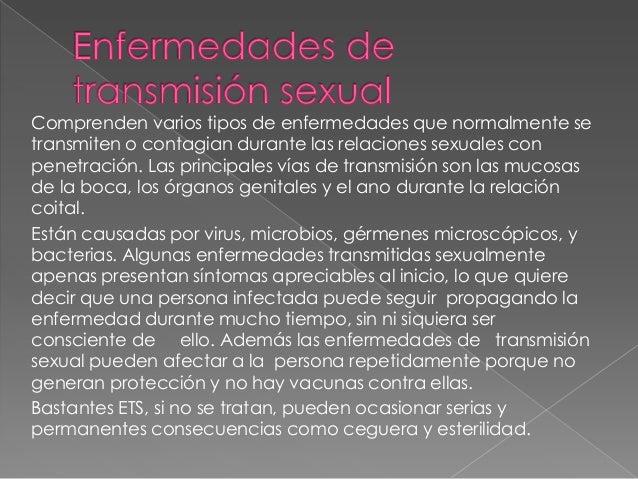    Clamidia   Enfermedad inflamatoria pélvica (EIP)   Gonorrea   Herpes genital   VIH y ETS   Sífilis   Tricomonias...