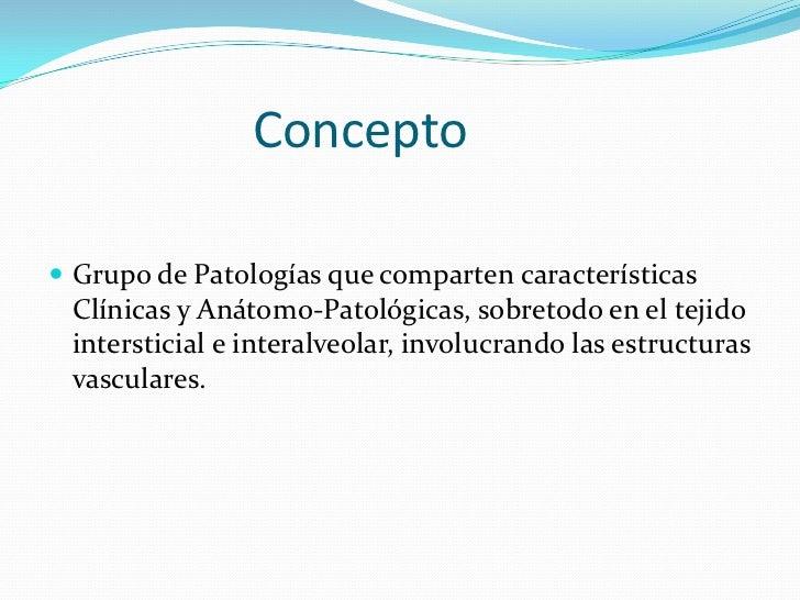 Enfermedades intersticiales del pulmón Slide 2