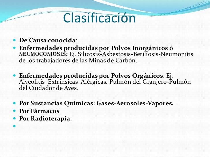 Enfermedades intersticiales del pulmón Slide 3