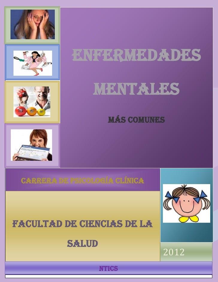 ENFERMEADES MENTALES                  ENFERMEDADES                          MENTALES                            MÁS COMUNE...