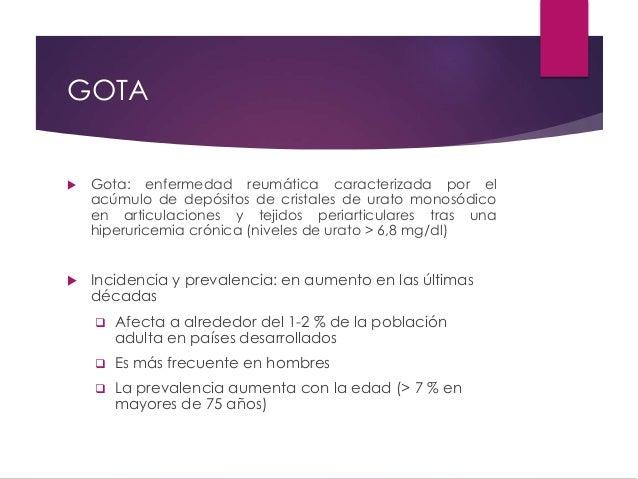 Enfermedad de Gota Slide 3