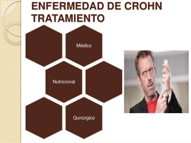 ENFERMEDAD DE CROHN TRATAMIENTO Médico  Nutricional  Quirúrgico