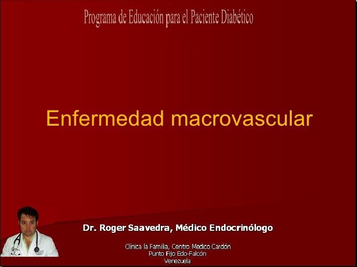 Enfermedad macrovascular