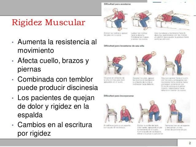 Rigidez muscular definicion