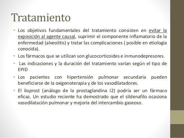 Bibliografía • Enfermedad pulmonar intersticial; Dr. Mridu Gulatia Prim Care Respir J 2011; 20(2): 120-127 doi:10.4104/pcr...