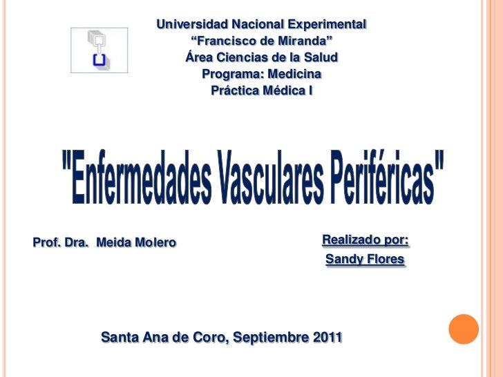 """Universidad Nacional Experimental                        """"Francisco de Miranda""""                       Área Ciencias de la ..."""
