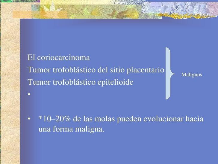 Enfermedad trofoblastica gestacional Slide 3