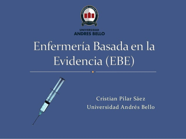Cristian Pilar Sáez Universidad Andrés Bello