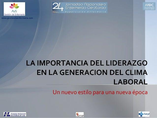 www.gestiondeenfermeria.com  Un nuevo estilo para una nueva época