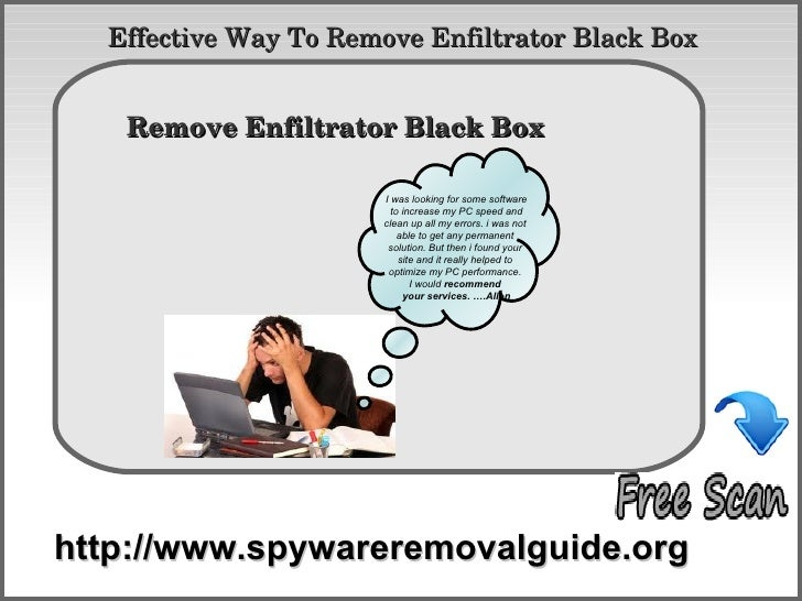 Effective Way To Remove Enfiltrator Black Box          How To Remove   Remove Enfiltrator Black Box                       ...