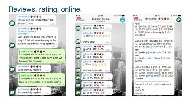 MyPokerBot for Telegram Case Study
